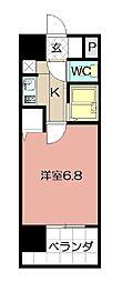 ライオンズマンション小倉駅南第3 906[906号室]の間取り