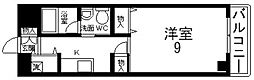 インパレス小阪[605号室号室]の間取り