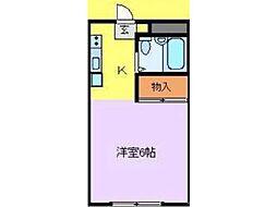 キーウィハウス小金井[2階]の間取り
