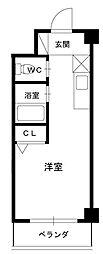 アリスYAO[4階]の間取り