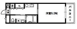 十三本町ウインズマンションII[2階]の間取り