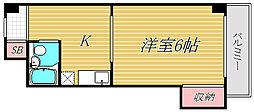 TMグリーン東邦[3階]の間取り