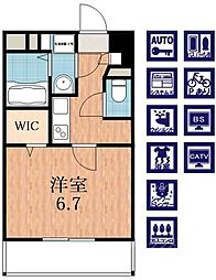 カーサ・みなみ[2階]の間取り