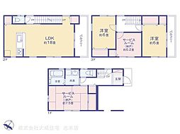 一戸建て(柳瀬川駅から徒歩40分、114.62m²、2,980万円)