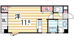 ING1[104号室]の間取り