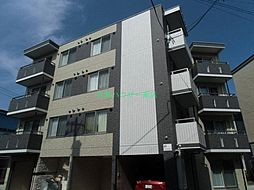 北海道札幌市東区北十三条東13丁目の賃貸マンションの外観