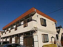 神奈川県座間市相武台3の賃貸アパートの外観