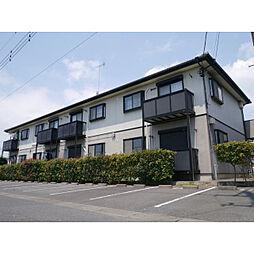 茨城県神栖市柳川の賃貸アパートの外観