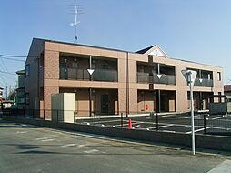 埼玉県鴻巣市明用の賃貸アパートの外観