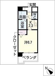 ライフエリア浅間[2階]の間取り