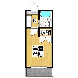 ミヤタハイツ[105号室]の間取り