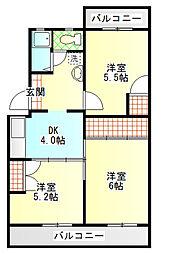 富士昭和ビル1[1階]の間取り