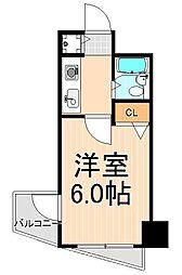 アーバンヒルズ浅草第2[2階]の間取り