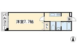コンダクト藤松[4階]の間取り