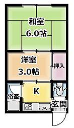 [タウンハウス] 大阪府守口市金田町1丁目 の賃貸【/】の間取り