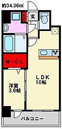 仮)弥永5丁目マンション[408号室]の間取り