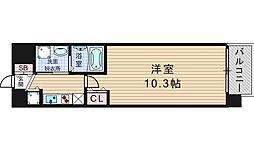 アーデン江戸堀[7階]の間取り