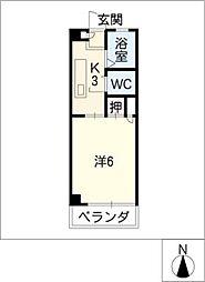 パークMAS[2階]の間取り