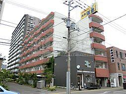 北海道札幌市中央区北一条東5丁目の賃貸マンションの外観