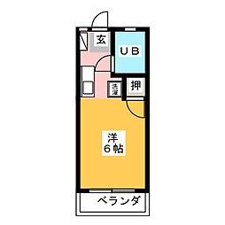 K−HAUS[1階]の間取り