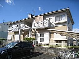 奈良県奈良市左京1丁目の賃貸アパートの外観