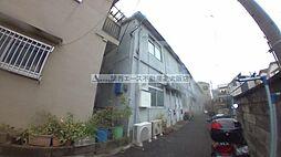 大阪府東大阪市松原1丁目の賃貸アパートの外観