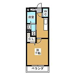 カンパニーレ[2階]の間取り