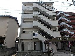 愛媛県松山市枝松6丁目の賃貸マンションの外観