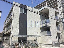 埼玉県坂戸市日の出町の賃貸アパートの外観