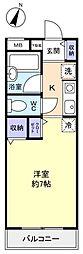 TKマンション[1階]の間取り