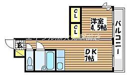 KATAYAMAIII[3階]の間取り