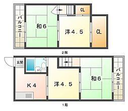 トゥリオーニ守口[4階]の間取り