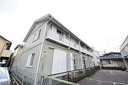 埼玉県越谷市東柳田の賃貸アパートの外観