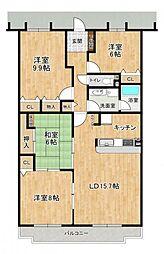 LDK15帖超各居室広々とした4LDKです