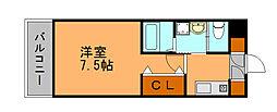 ベルパークII[10階]の間取り