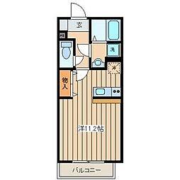 Lanai Inamura[1階]の間取り