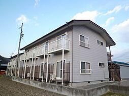 長野県茅野市本町東の賃貸アパートの外観