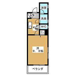 Felice Izumi[3階]の間取り