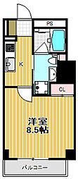 パークハビオ戸越[4階]の間取り