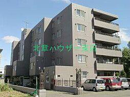 北海道札幌市東区北十八条東21丁目の賃貸マンションの外観