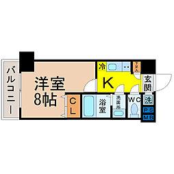 will Do松原[7階]の間取り