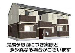 山口県下関市上田中町5丁目の賃貸アパートの外観