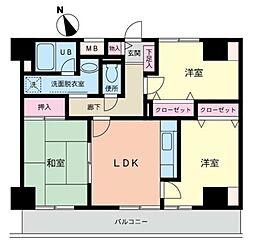 キタ・トマトビル[8階]の間取り