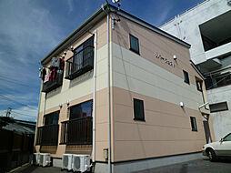 長野県諏訪市諏訪1丁目の賃貸アパートの外観