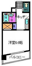 東京都江戸川区東葛西6丁目の賃貸マンションの間取り