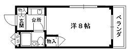 リバーサイド西村[208号室号室]の間取り
