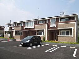 栃木県宇都宮市宮の内3の賃貸アパートの外観