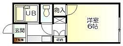 レインボーハウス五所 第2[1階]の間取り
