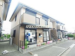 神奈川県高座郡寒川町宮山の賃貸アパートの外観