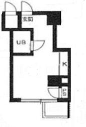 TY BUILDING[D604号室]の間取り